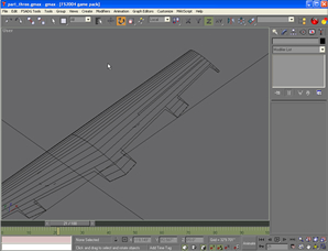 Animating the control surfaces